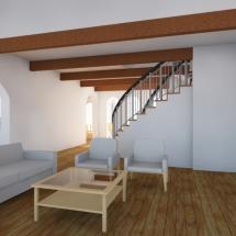 Living Toward Stair